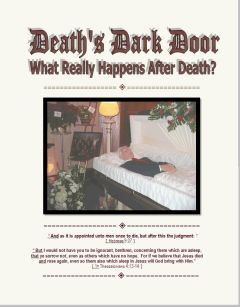 Death's Dark Door Cover